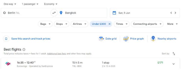 Berlin Bangkok