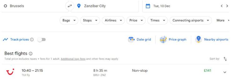 Brussels Zanzibar City