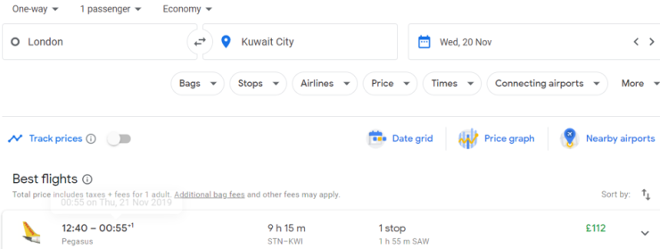 London Kuwait City