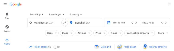 Manchester-Bangkok example